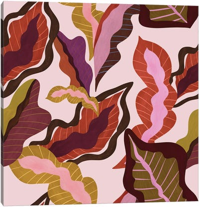 Peranakan Foliage Canvas Art Print