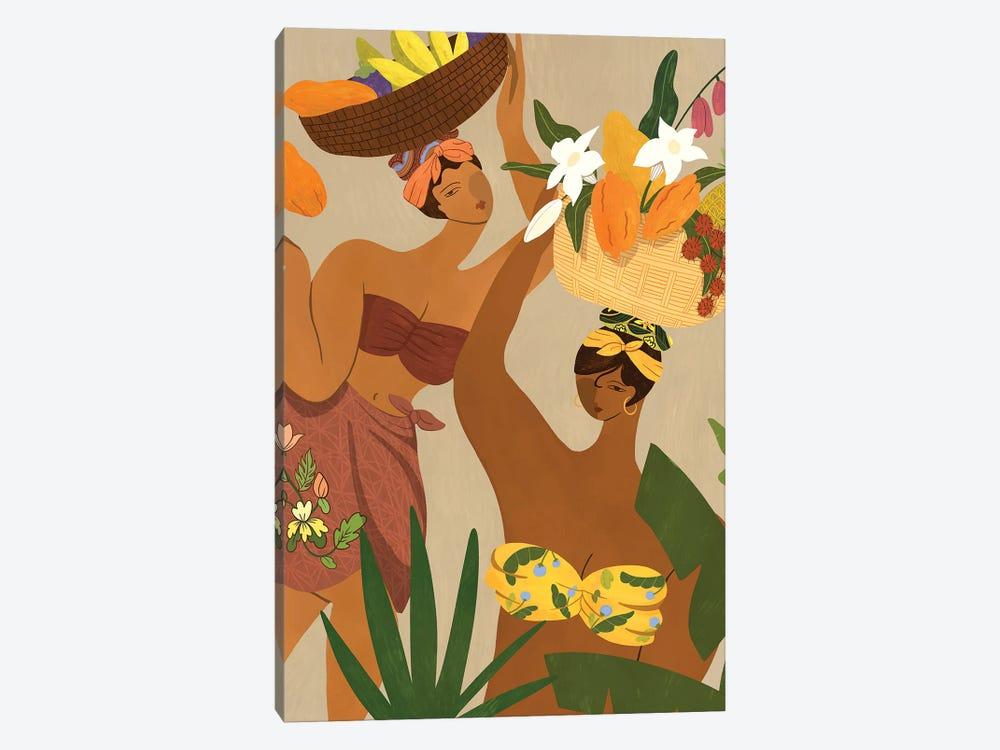 Oops I Drop My Papaya by Arty Guava 1-piece Canvas Print