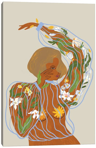 Nurture And Grow Canvas Art Print