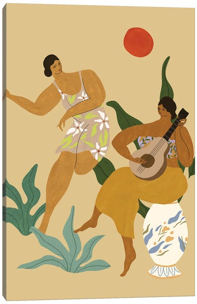Music And Dance Canvas Art Print