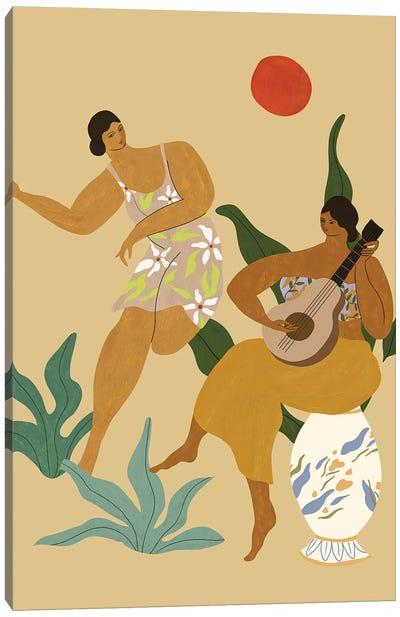 Music And Dance Canvas Art Print