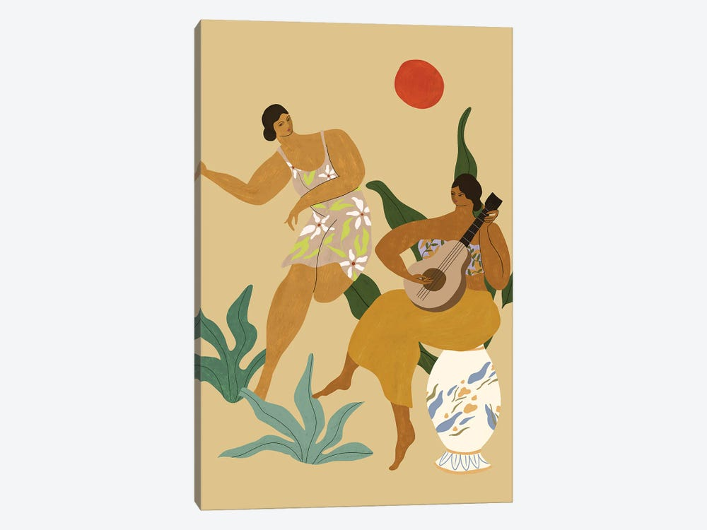 Music And Dance by Arty Guava 1-piece Art Print