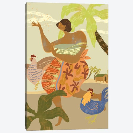 Morning Ritual Canvas Print #ATG23} by Arty Guava Canvas Art