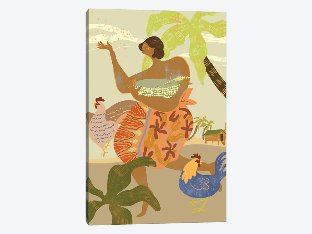 Morning Ritual by Arty Guava 1-piece Canvas Wall Art