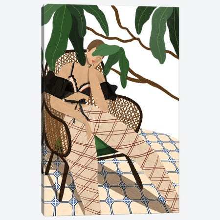 Lounging Canvas Print #ATG27} by Arty Guava Canvas Print