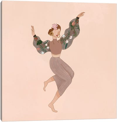 Just Dance Canvas Art Print