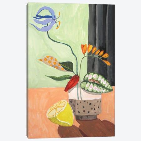 Ikebana Canvas Print #ATG32} by Arty Guava Canvas Print