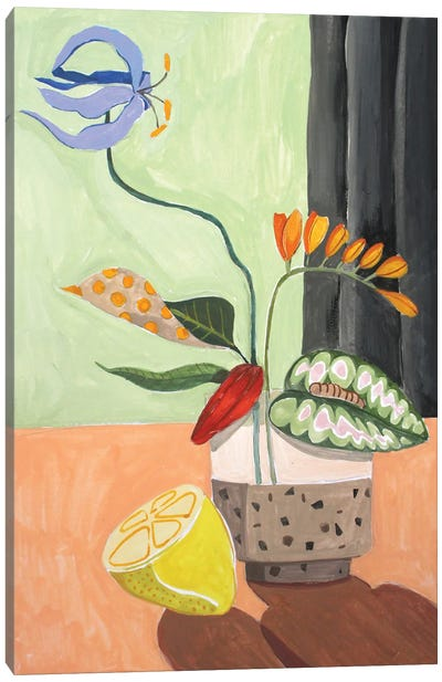 Ikebana Canvas Art Print