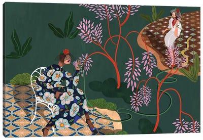 Gossip Garden Canvas Art Print