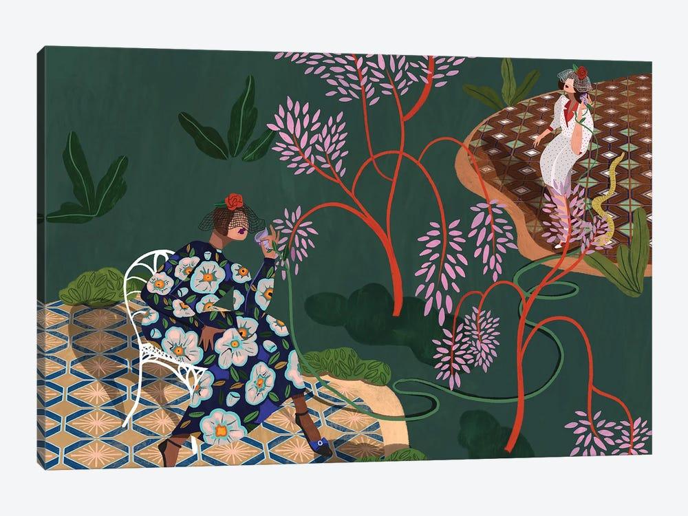 Gossip Garden by Arty Guava 1-piece Art Print