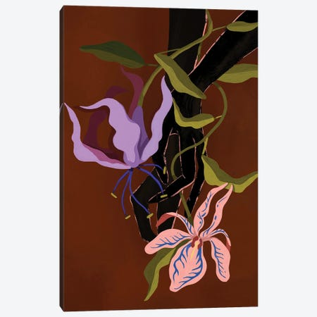 Tangled III Canvas Print #ATG3} by Arty Guava Canvas Print