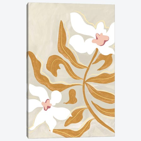 Flowers Canvas Print #ATG40} by Arty Guava Canvas Wall Art
