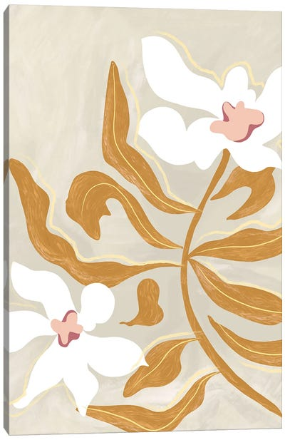 Flowers Canvas Art Print