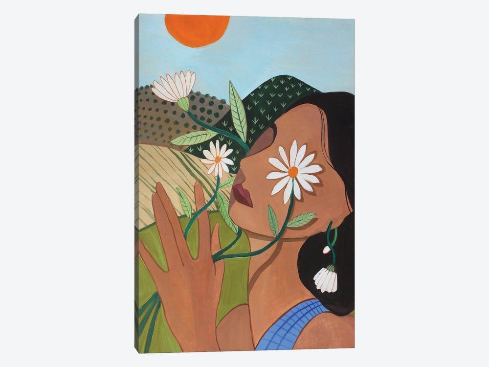 Daisy by Arty Guava 1-piece Canvas Wall Art