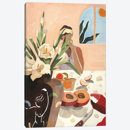 Brunch Canvas Print #ATG56} by Arty Guava Canvas Art