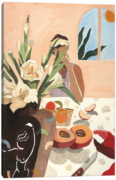 Brunch Canvas Art Print