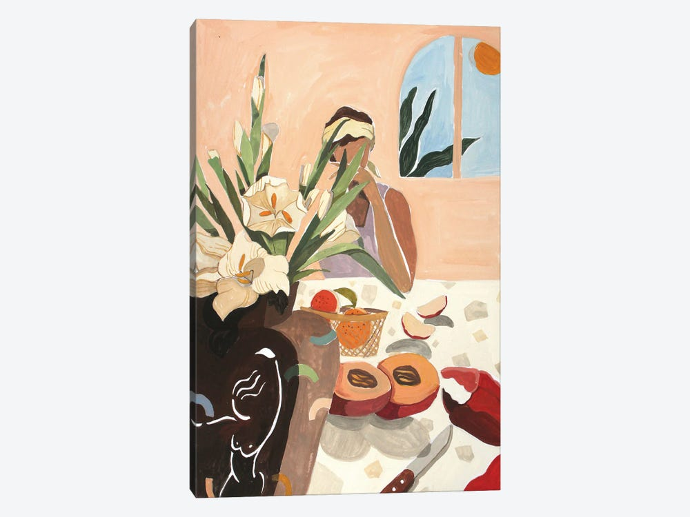 Brunch by Arty Guava 1-piece Canvas Wall Art