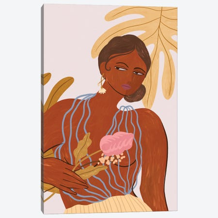 Be Bold Canvas Print #ATG59} by Arty Guava Canvas Print