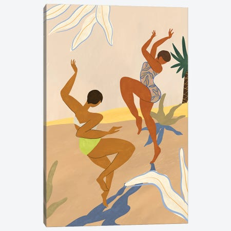 Summer Dance Canvas Print #ATG5} by Arty Guava Canvas Art
