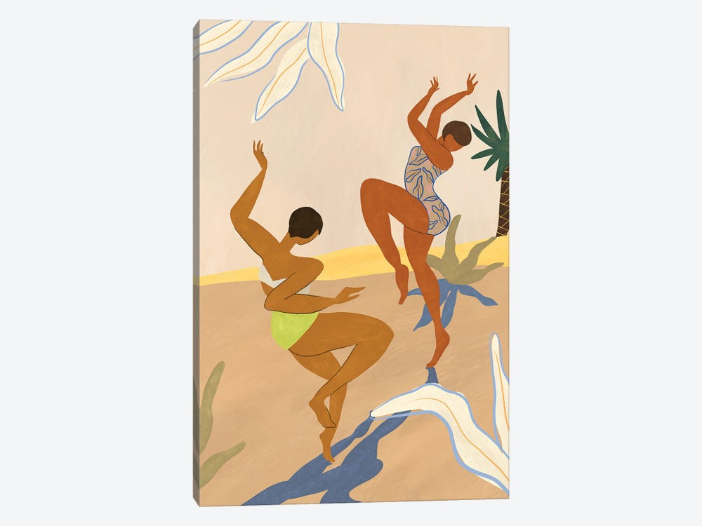 Summer Dance by Arty Guava 1-piece Canvas Print