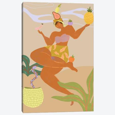 Balancing Act Canvas Print #ATG60} by Arty Guava Canvas Wall Art