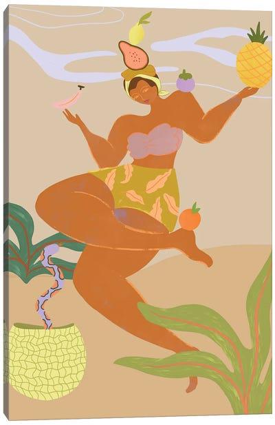 Balancing Act Canvas Art Print