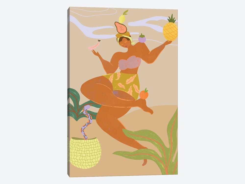 Balancing Act by Arty Guava 1-piece Art Print