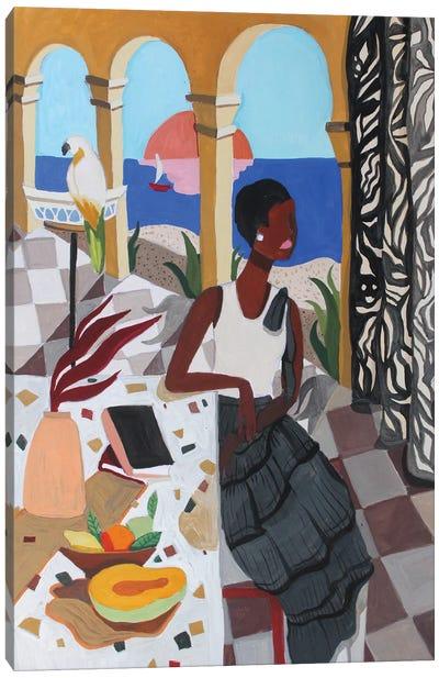Mediterranean Canvas Art Print