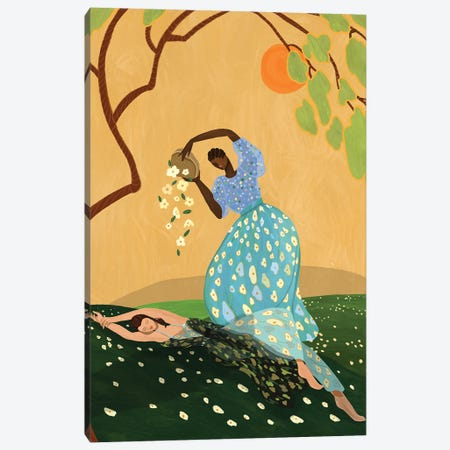 Summer Bluss Canvas Print #ATG6} by Arty Guava Canvas Art