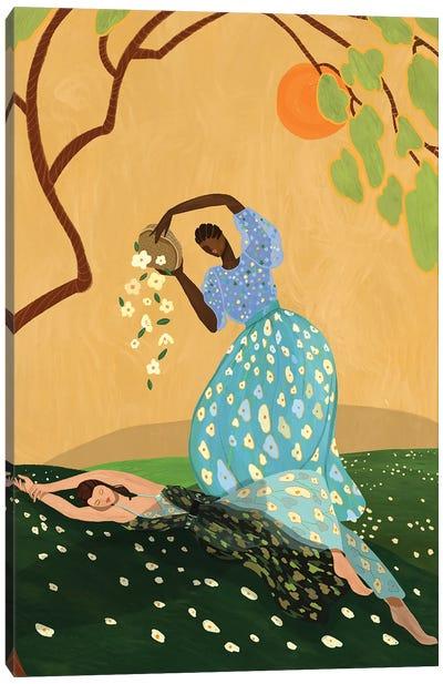 Summer Bluss Canvas Art Print