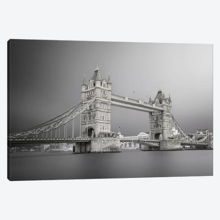 Tower Bridge Canvas Print #ATH7} by Ahmed Thabet Art Print