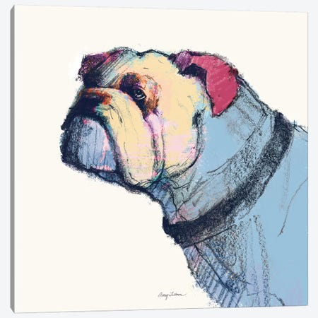 Castor Watercolor Pastel Canvas Print #ATI12} by Avery Tillmon Canvas Print