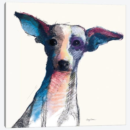 Thor Watercolor Pastel Canvas Print #ATI13} by Avery Tillmon Canvas Print