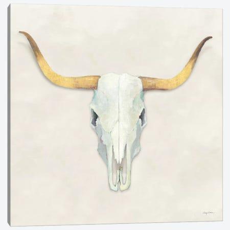 Echoes White Gold Canvas Print #ATI14} by Avery Tillmon Canvas Art