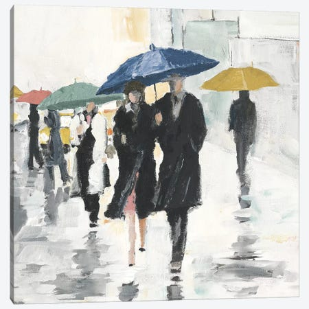 City In The Rain II Canvas Print #ATI23} by Avery Tillmon Canvas Artwork