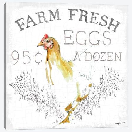 Farm Fresh enamel Canvas Print #ATI27} by Avery Tillmon Canvas Print
