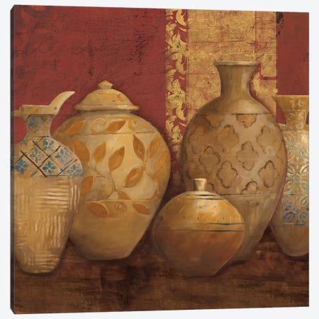 Aegean Vessels Spice Extra Vessel Crop Canvas Print #ATI2} by Avery Tillmon Art Print