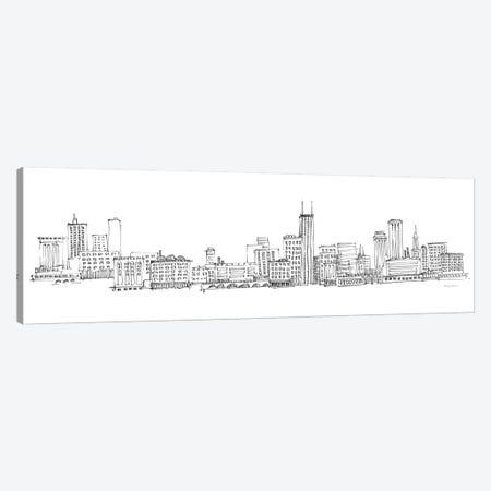 Chicago Skyline Canvas Print #ATI30} by Avery Tillmon Canvas Art Print