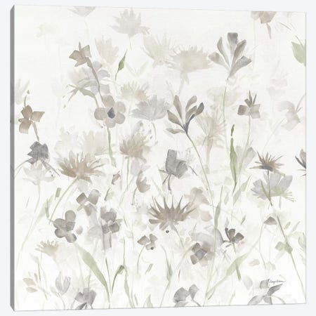 Garden Shadows IV on White v2 Canvas Print #ATI3} by Avery Tillmon Canvas Print