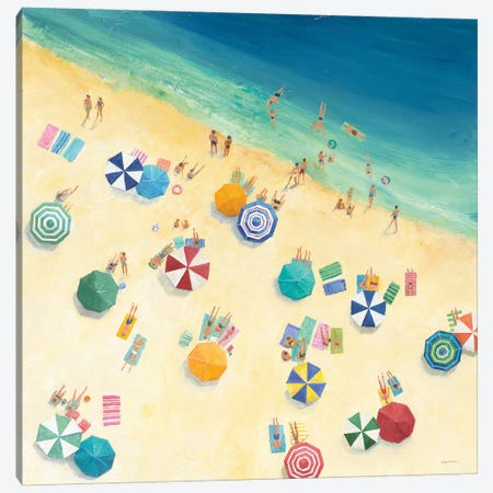 Summer Fun Canvas Print #ATI40} by Avery Tillmon Canvas Wall Art
