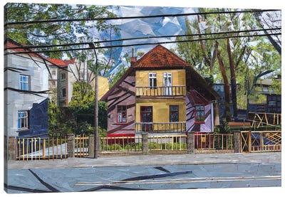 House Canvas Art Print