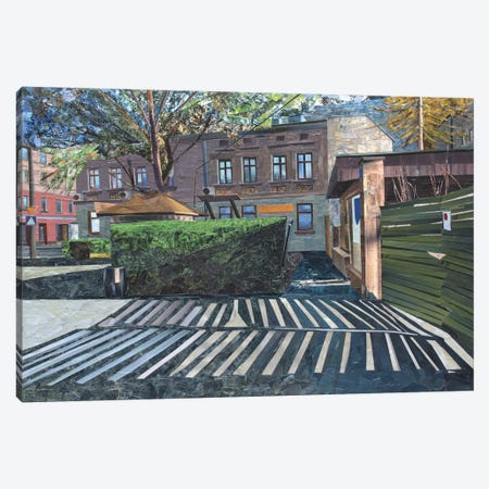 Old gate Canvas Print #ATK26} by Albin Talik Canvas Art Print