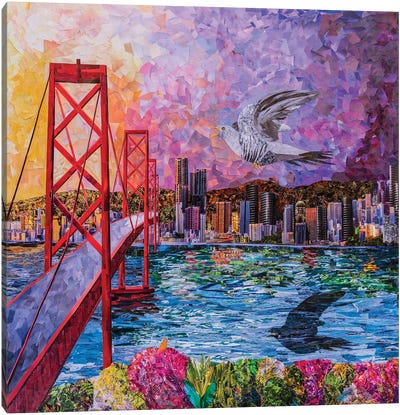 One Flew Over The San Francisco Canvas Art Print