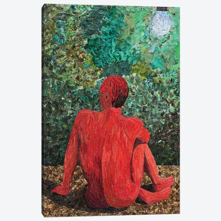 Rumination V 3-Piece Canvas #ATK30} by Albin Talik Canvas Art Print