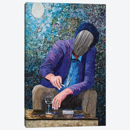 Rumination XIX Canvas Print #ATK32} by Albin Talik Canvas Print