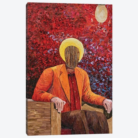 Rumination XX Canvas Print #ATK34} by Albin Talik Canvas Wall Art