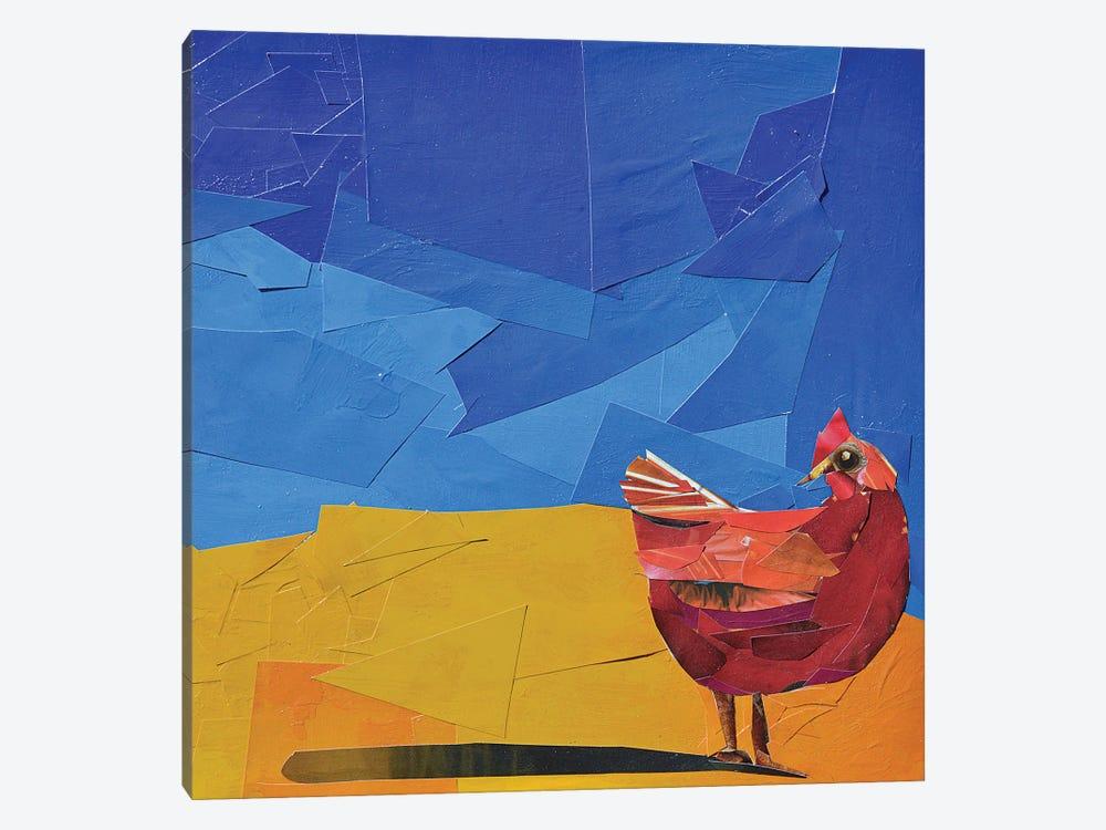 Hen by Albin Talik 1-piece Canvas Print