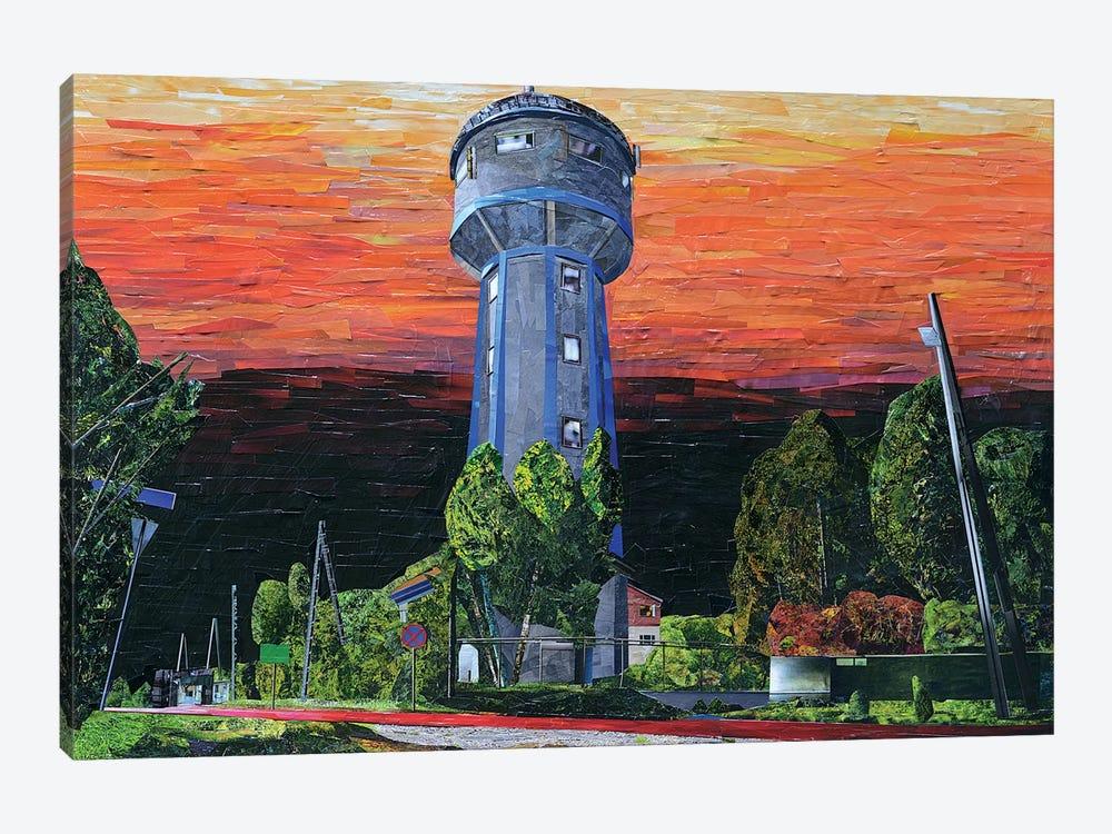 Watertower by Albin Talik 1-piece Canvas Wall Art