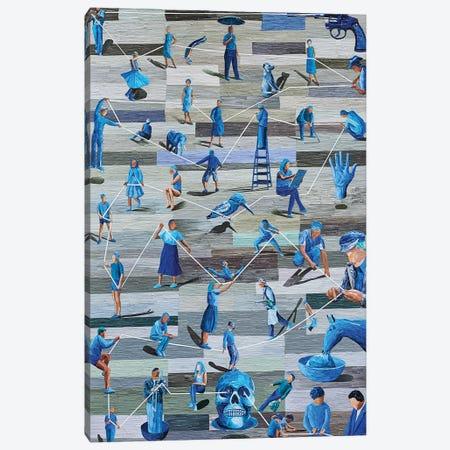 Boredom III Canvas Print #ATK4} by Albin Talik Canvas Artwork