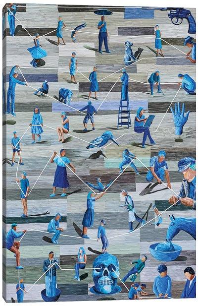 Boredom III Canvas Art Print
